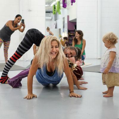 Rainbow Kids Yoga 1